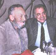 Charlie Fox and Ernie Schwiebert at Charlie Fox's Party Held by The Letort Regulars